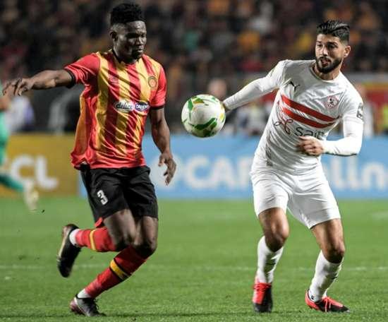 La finale de la Champions League africaine reportée. AFP