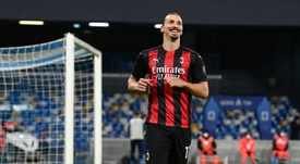 Ibrahimovic wanted to hang up his boots. AFP