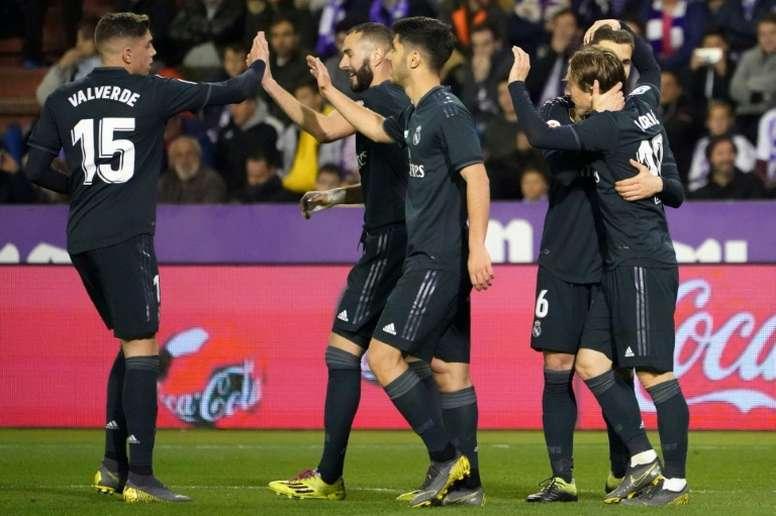 Il Real Madrid supera il Valladolid. AFP