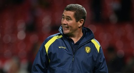 Clough is keen not to overawe his players before high-profile cup tie. AFP