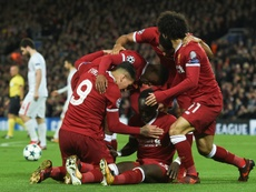 Liverpool blew Spartak Moscow away at Anfield. AFP