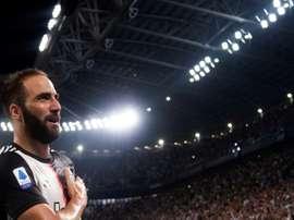 Higuain medita l'addio alla Juventus. AFP