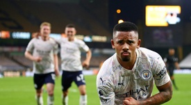 Para qué quieres a Messi si tienes a De Bruyne. AFP