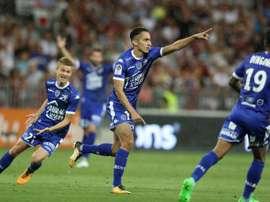 Saif Eddine Khaoui pourrait quitter Marseille. EFE