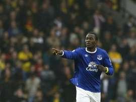 Lukaku, uno de los autores de los goles del Everton. EFE