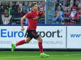 O Freiburg soma 20 pontos, ocupando a 12º posição da Bundesliga. EFE