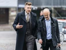 Nicklas Bendtner dropped his appeal against the sentence. AFP