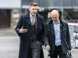 Nicklas Bendtner dropped his appeal against the sentence. AFP
