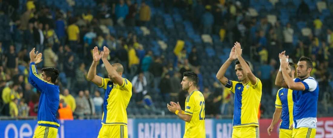 El Maccabi de Tel Aviv no logró imponerse al Hapoel Haifa. AFP/Archivo