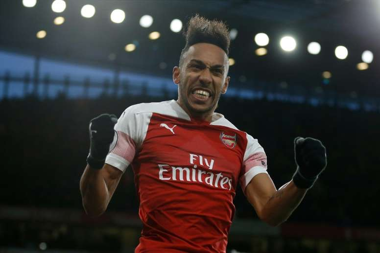 Pierre-Emerick Aubameyang sealed Arsenal's 2-0 win over Manchester United from the penalty spot