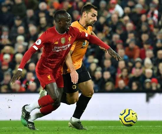 Les compos probables du match de Premier League entre Wolverhampton et Liverpool. AFP