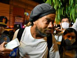 Ronaldinho closing in on 70 days detention in Paraguay. AFP