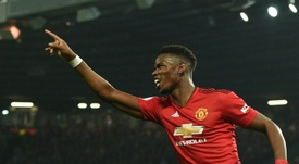 Paul Pogba pète la forme. AFP