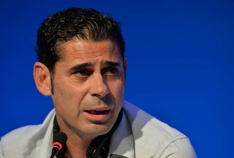 Hierro has been tasked with leading Spain in Russia. AFP