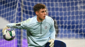 Kepa could be benched. AFP