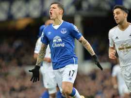Besic looks set to return to the north east. AFP