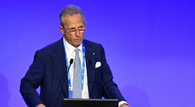 Micciche has resigned as Serie A president after an investigation into his appointment. AFP