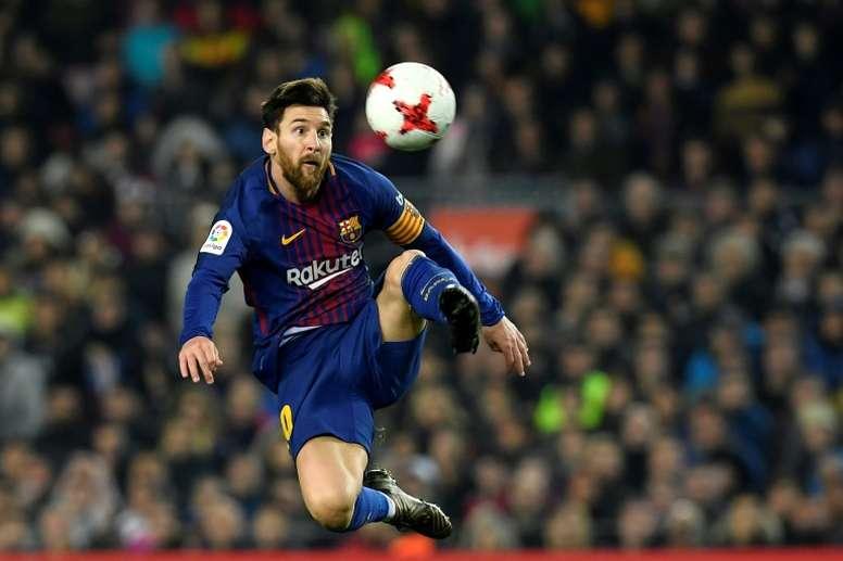 Messi revient à Cornella. AFP