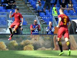 El Shaarawy bagged a first-half brace as AS Roma overwhelmed Udinese. AFP