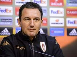 Lowly Standard sack Serbian coach. AFP