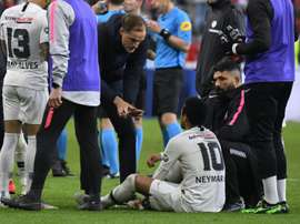 PSG coach Tuchel hits out at Neymar after fan attack. AFP
