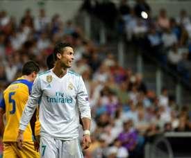 O APOEL-Real Madrid é um dos jogos em destaque nesta terça-feira europeia. AFP