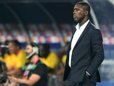 Seedorf's Cameroon struggled through the group stages. AFP