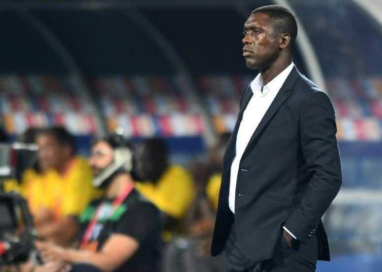 Seedorf quiso valorar la actual situación del Milan. AFP