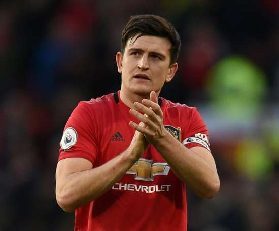 Maguire says top four in sight for improving Man Utd. AFP