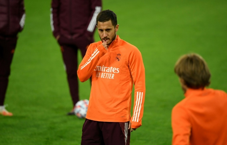 Hazard back in squad as Real look to bounce back in CL