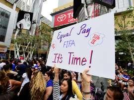 Men's team blasts US Soccer, backs women's equal pay fight. AFP