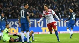 Arp est une des sensations de Bundesliga. AFP
