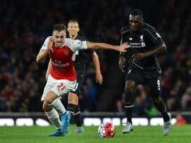 Calum Chambers a prolongé avec Arsenal. AFP