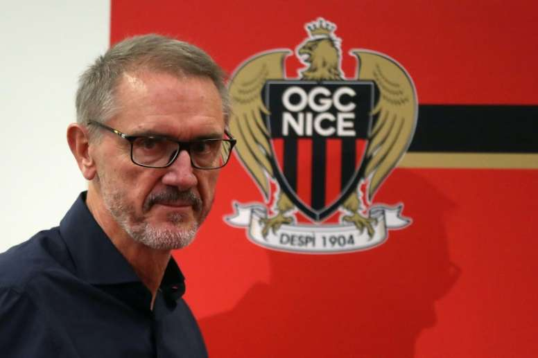 Ratcliffe wants Nice to be in the Champions League soon. AFP