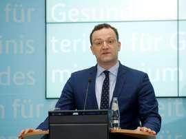 Jens Spahn was highly critical of Kalou's behaviour. AFP
