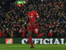 Sadio Mane scored a late winner to give Liverpool a come from behind win. AFP