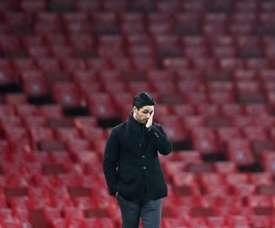 Arteta regrette le départ d'Özil. AFP