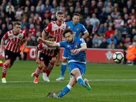 Arter has hinted that he may leave Bournemouth. AFP