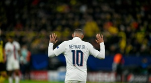 Neymar will have to stay at PSG. AFP