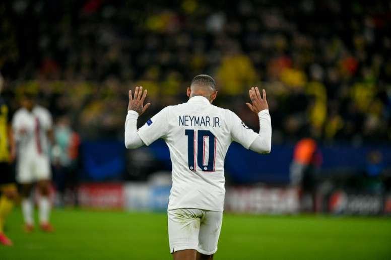 O Barça ainda sonha com Neymar. AFP