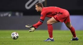 Neuer spoke ahead of the Spain match. AFP