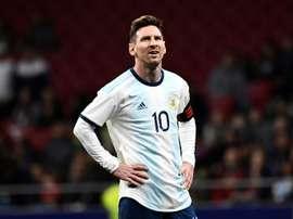 Menotti a parlé de l'ambition de Lionel Messi. AFP