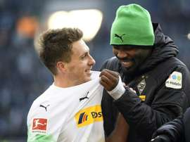 Despite a month on top, 'Gladbach boss Rose wary of title talk. AFP