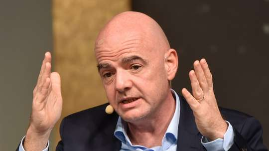 Infantino will respect any decision. AFP