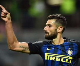 Italiano poderá rumar a Inglaterra em breve. AFP