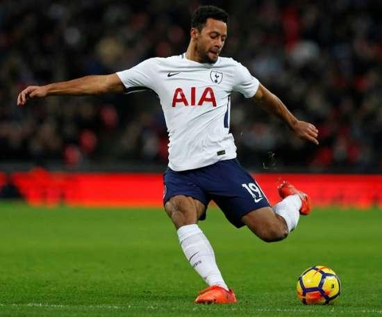 Mousa Dembélé, la última venta del Tottenham. AFP