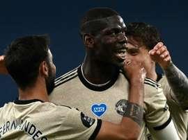 Manchester United déroule et s'accroche à la Ligue des champions. AFP