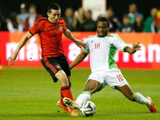 John Obi Mikel led Nigeria to AFCON success in 2013. AFP
