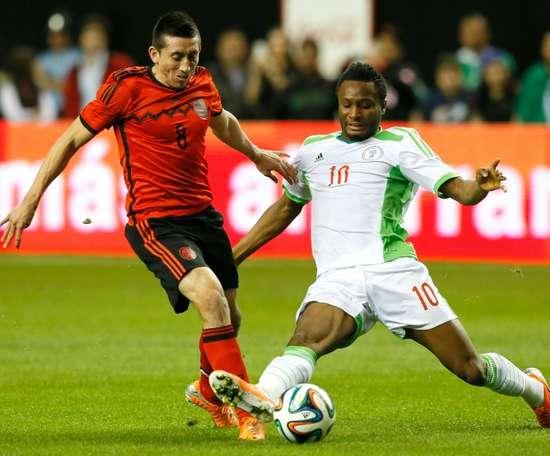 Obi Mikel, la star qui pourrait atterrir à Botafogo. AFP