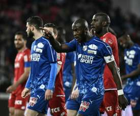 Ligue 1 match temporarily stopped due to racist chants. AFP